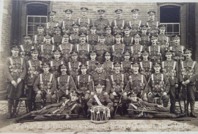 Sgt Trinder's Squad, Scots Guards, Nov 1915