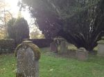 Graveyard at Innerpeffray Chapel